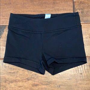 Black Ivivva Booty Shorts